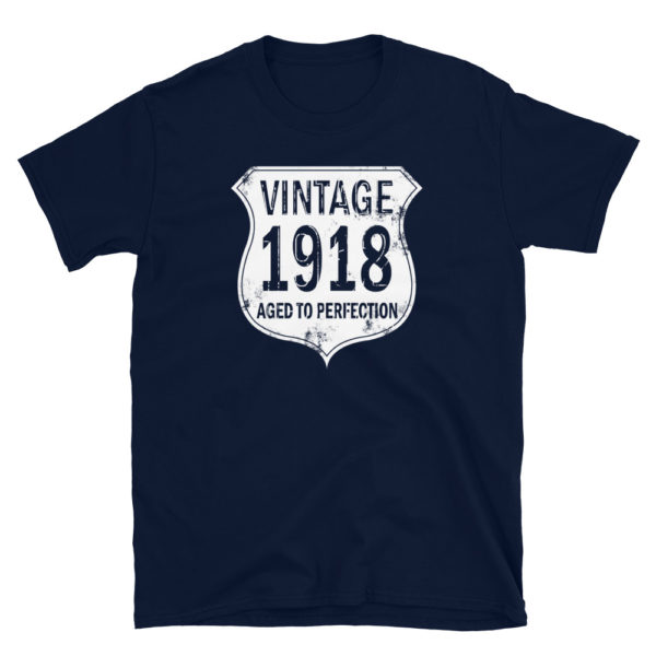 1918 Aged to Perfection Men's/Unisex T-Shirt