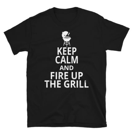 BBQ Chef Fire Up the Grill Men's/Unisex T-Shirt