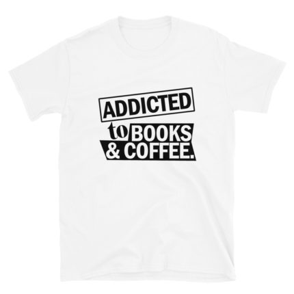 Book & Coffee Lover Men's/Unisex T-Shirt