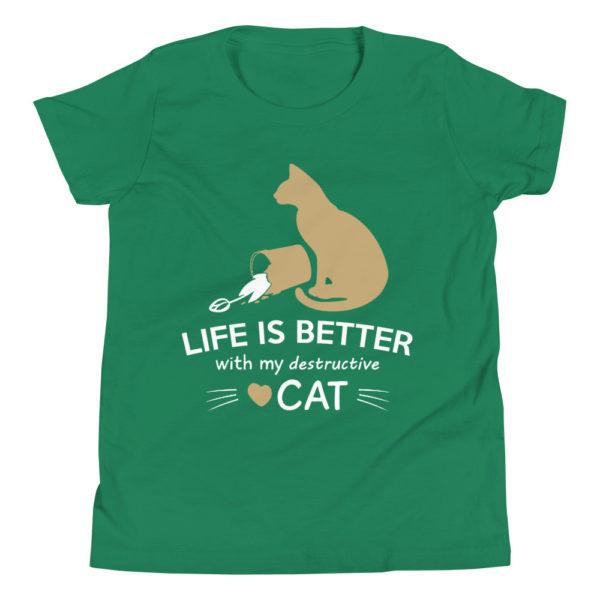 Cat Lover Kid's/Youth Premium T-Shirt