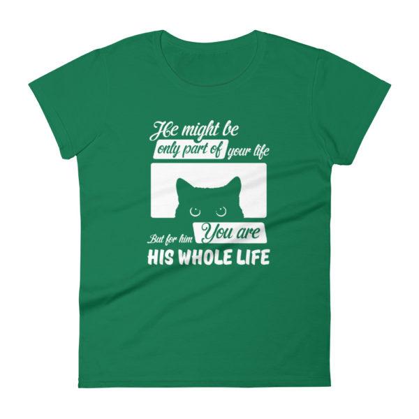 Cat Lover Women's  Fashion Fit T-shirt