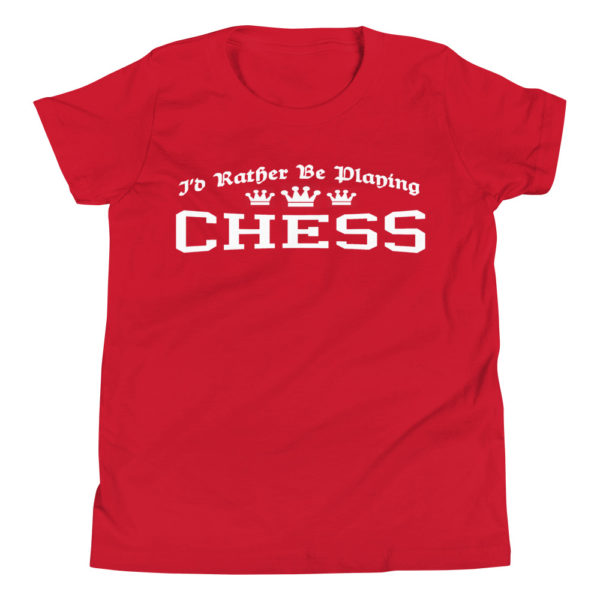 Chess Lover Kid's/Youth Premium T-Shirt