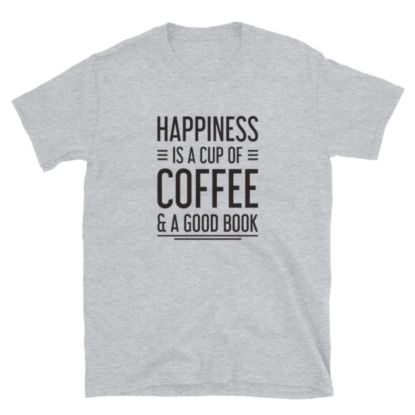 Coffee and Book Lover Men's/Unisex T-Shirt