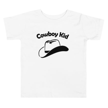Cowboy Kid Toddler Premium Tee