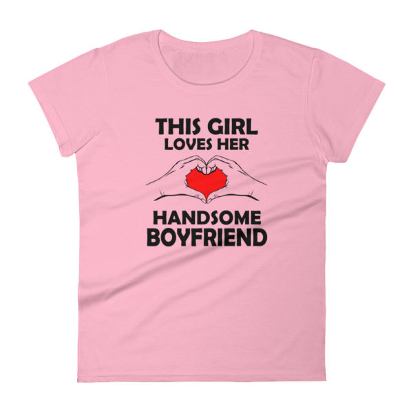 Cute Girlfriend Women's Fashion Fit T-shirt