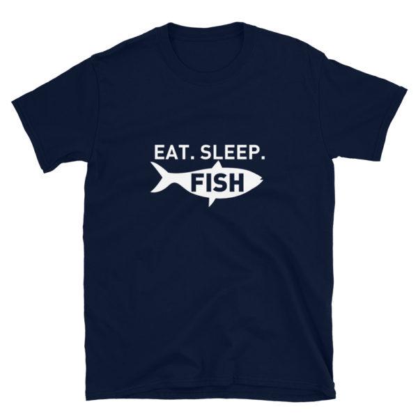 Eat Sleep Fish Men's/Unisex T-Shirt