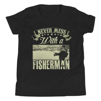 Fisherman Kid's/Youth Premium T-Shirt