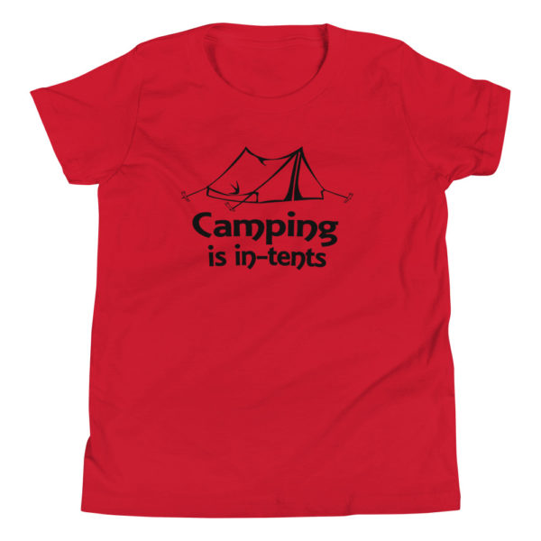 Funny Camping Kid's/Youth Premium T-Shirt