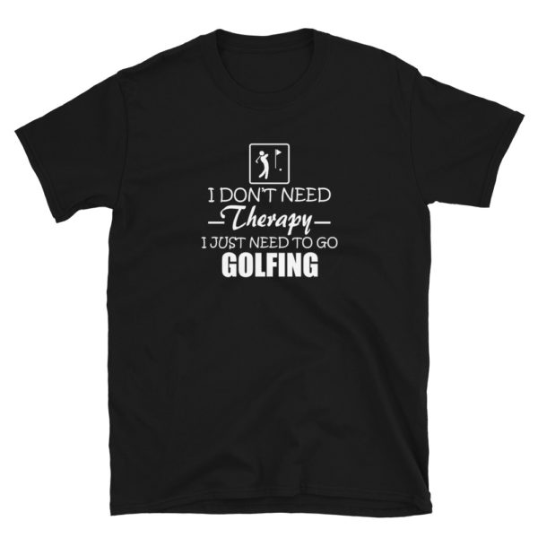Funny Golf Therapy Men's/Unisex T-Shirt