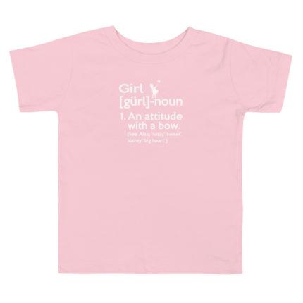 GIRL Toddler Premium Tee