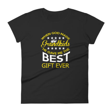 Grandma Loves her Grand-kids Premium T-shirt