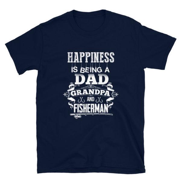 Grandpa Fisherman Men's Soft T-Shirt