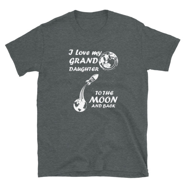 Grandparents Unisex T-Shirt for Grandpa/Grandma