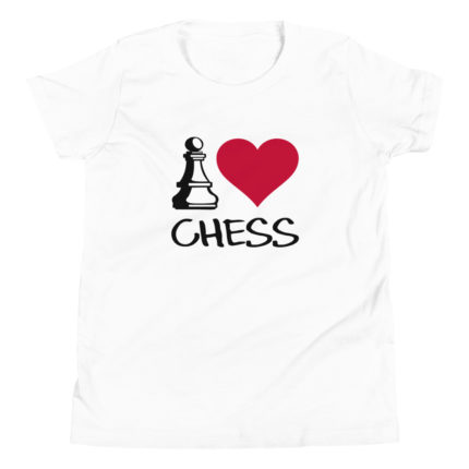 I love Chess Kid's/Youth Premium T-Shirt