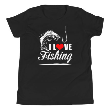 I love Fishing Kid's/Youth Premium T-Shirt