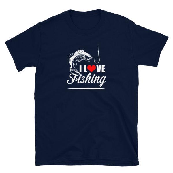 I Love Fishing Men's/Unisex Soft T-Shirt