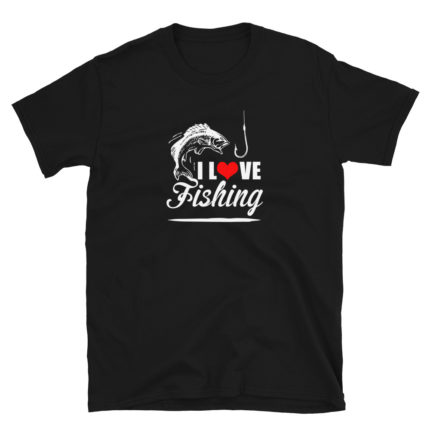 I Love Fishing Men's/Unisex Soft T-Shirt