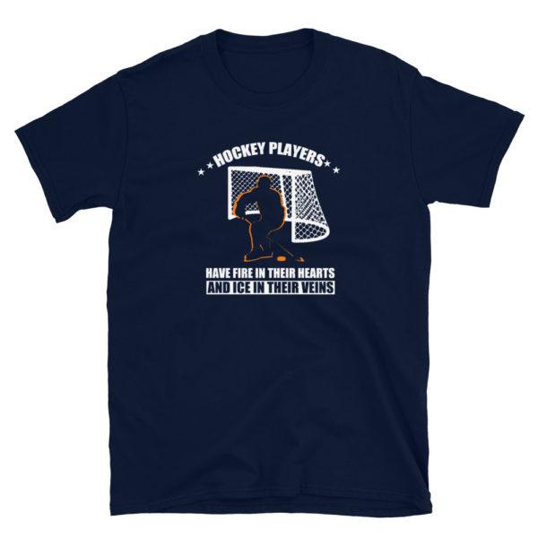 Ice Hockey Men's/Unisex Soft T-Shirt