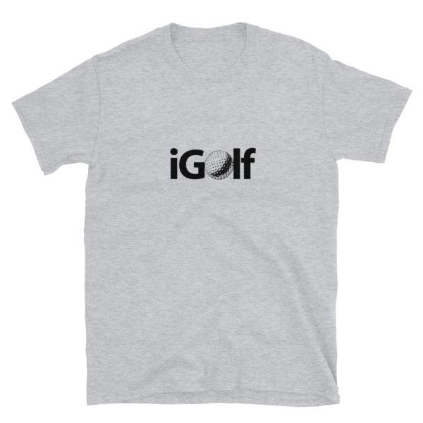 iGolf Men's/Unisex Soft T-Shirt