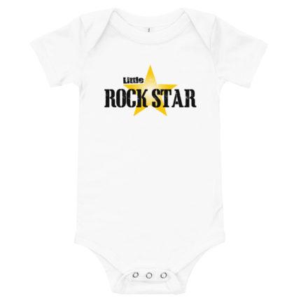 Little Rockstar Baby's Premium Onesie