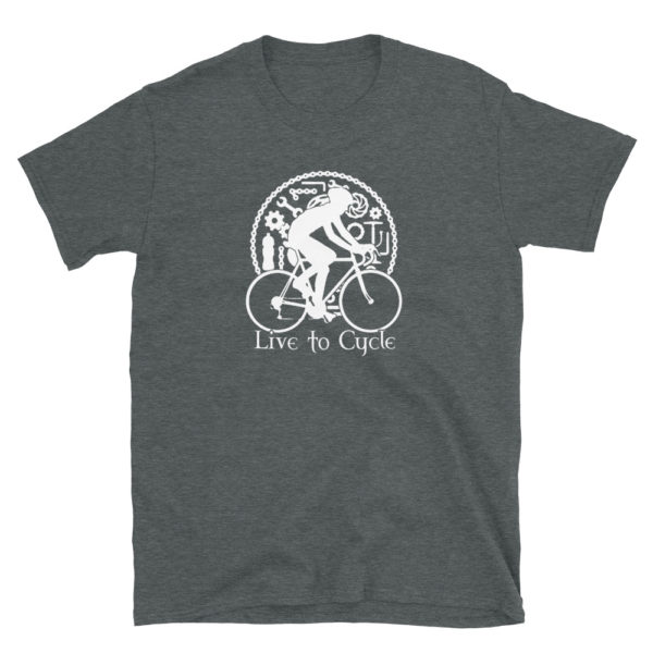 Live to Cycle Men's/Unisex Soft T-Shirt