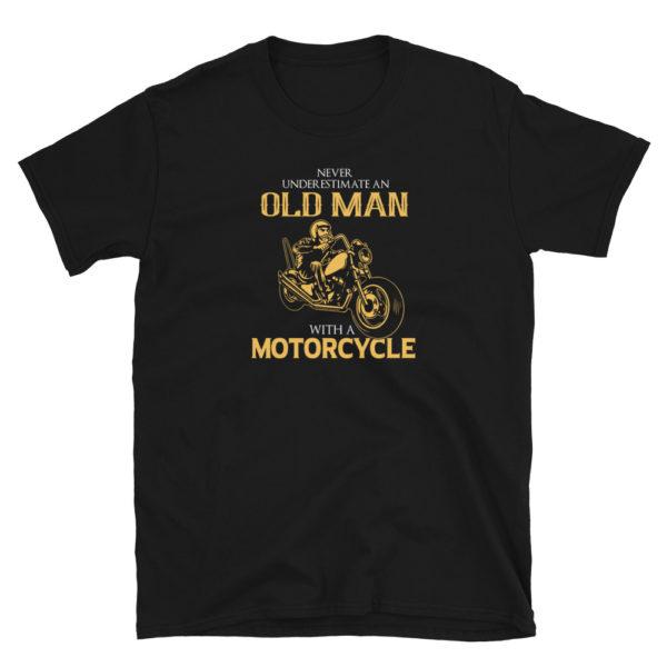 Old Man Motorcycle Men's/Unisex T-Shirt