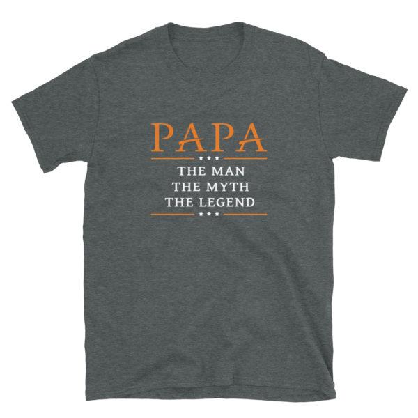 PAPA Dad's/Grandpa's Softstyle T-Shirt