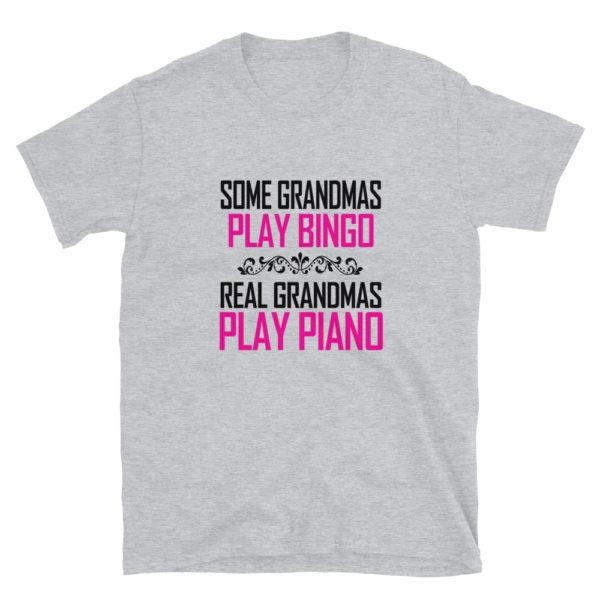 Real Grandma's Play Piano T-Shirt