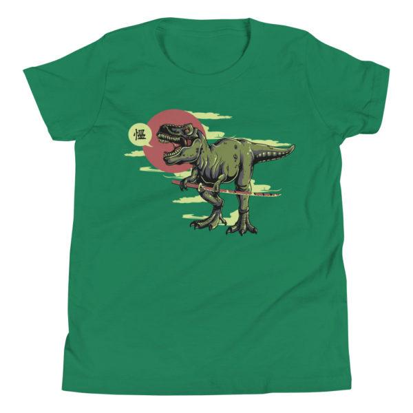 Samurai Dinosaur Kid's/Youth Premium T-Shirt