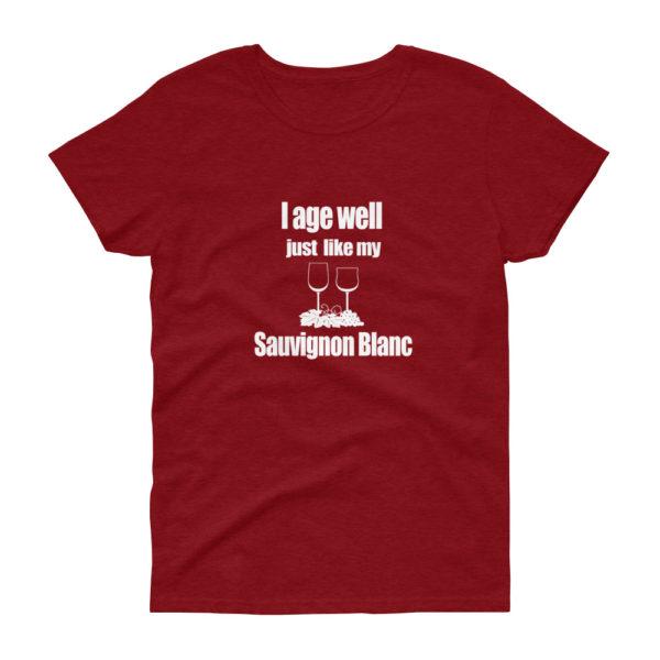 Wine Lover Women's Premium Loose Crew Neck T-shirt