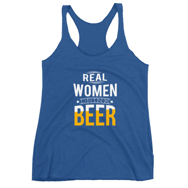 Women's Beer Racerback Tank Shirt