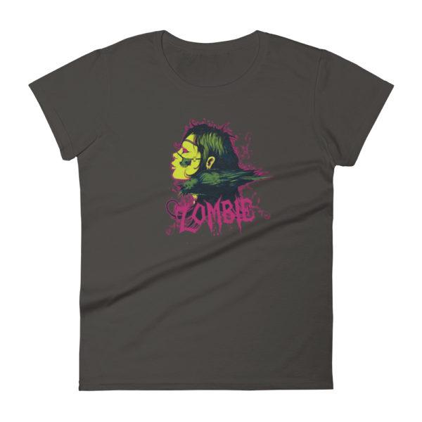Zombie Crow Women's Fashion Fit T-shirt
