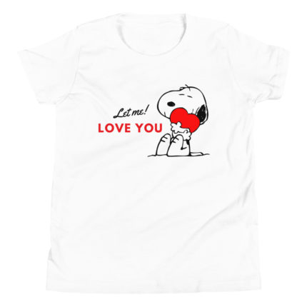 Let Me Love You Snoopy Girl's Premium T-Shirt