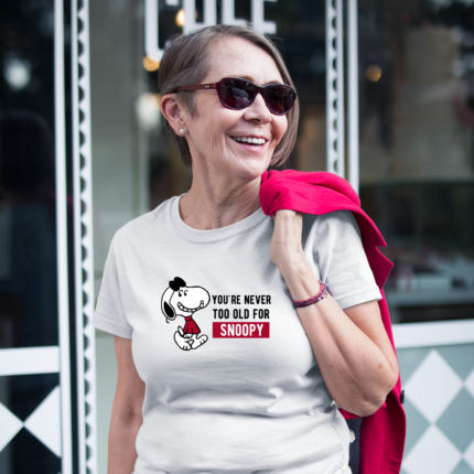 Snoopy Birthday T-Shirt for Woman/Grandma (Unisex sizing)