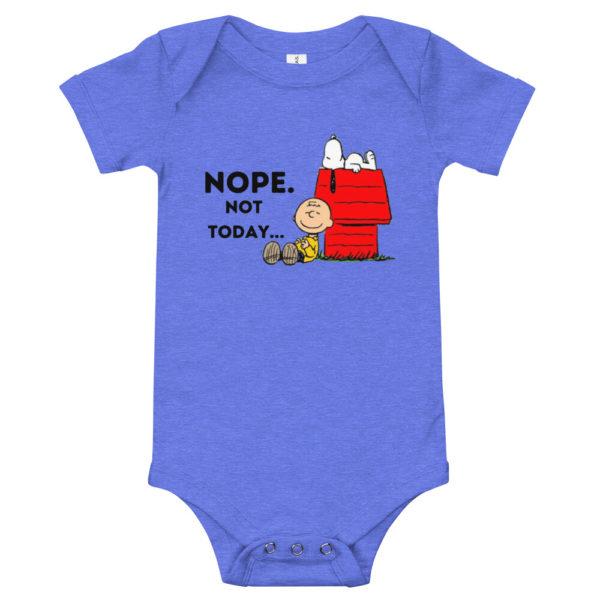 Snoopy Nope Not Today Baby's Premium Onesie